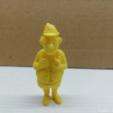 Figuras de Goma y PVC: FIGURA DUNKIN...LUCKY LUKE.. DARGAUD...GRANDE...(PERIODISTA).... Lote 116701891