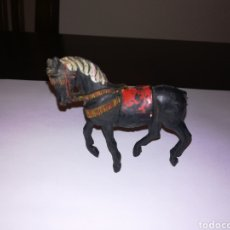 Figuras de Goma y PVC: CABALLO DE GOMA PECH HERMANOS GUARDIA MORA AÑOS 50. Lote 156736126