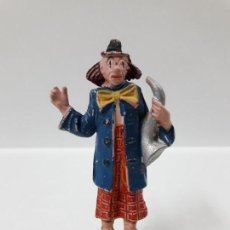 Figuras de Goma y PVC: PAYASO DEL CIRCO . REALIZADO POR JECSAN . AÑOS 50 EN GOMA. Lote 156861714