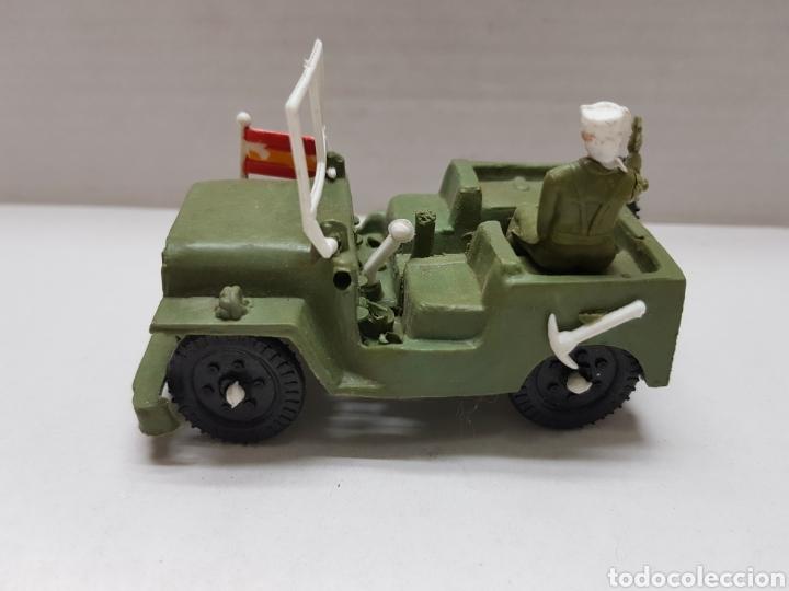 Figuras de Goma y PVC: Jeep Militar Español Sotorres escaso - Foto 2 - 156897548