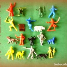 Figuras de Goma y PVC: FIGURAS Y SOLDADITOS DE MENOS DE 6 CTMS -9031. Lote 156943714