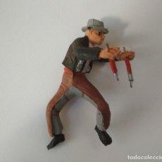 Figuras de Goma y PVC: FIGURA REJONEADOR PECH HNOS. Lote 156957162