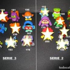 Figuras de Goma y PVC: SUPERZINGS SERIES 2 Y 3. Lote 156960314