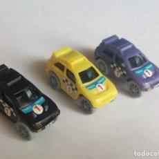 Figuras Kinder: KINDER SORPRESA RALLYE RACER D 1993 - REF. COCHE 613 185. Lote 156997510