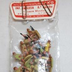 Figuras de Goma y PVC: BLISTER EKO INFANTERÍA INGLESA REF 4507. Lote 157072701