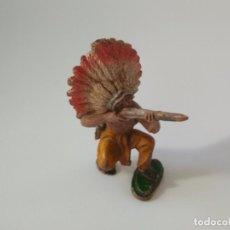 Figuras de Goma y PVC - Figura indio Pech hnos - 157137954