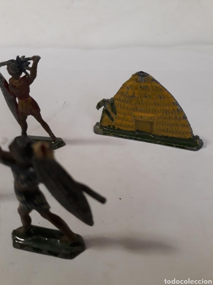 Figuras de Goma y PVC: LOTE INDIGENAS EN PLOMO CAPELL,CASANELLAS,TEIXIDO - Foto 2 - 157201485