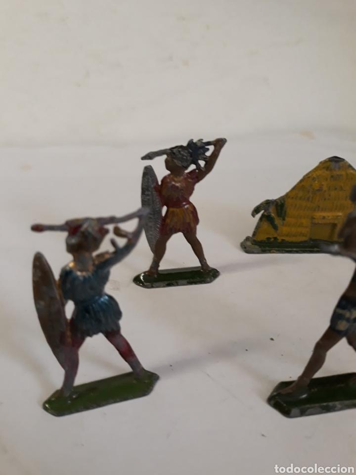 Figuras de Goma y PVC: LOTE INDIGENAS EN PLOMO CAPELL,CASANELLAS,TEIXIDO - Foto 3 - 157201485