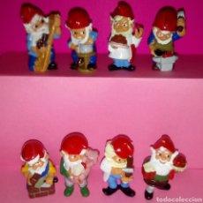 Figuras Kinder: GNOMOS OFICIOS - COLECCIÓN COMPLETA HUEVOS KINDER SORPRESA (ENANITOS). Lote 157243497
