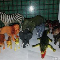 Figuras de Goma y PVC: LOTE FIGURAS ANIMALES JUGUETES. Lote 157247125