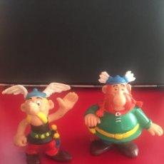 Figuras de Goma y PVC: LOTE 2 FIGURAS COMICS SPAIN ASTERIX Y OBELIX PVC. Lote 157255174