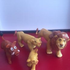 Figuras de Goma y PVC: LOTE 4 FIGURAS EL REY LEON COMANSI PVC. Lote 157368269
