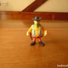 Figuras de Goma y PVC: FIGURA EN GOMA O PVC: PERSONAJE DE LUCKY LUKE. BANDIDO.. Lote 157714962