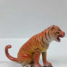 Figuras de Goma y PVC: TIGRE . REALIZADO POR JECSAN . SERIER CIRCO . AÑOS 50 EN GOMA. Lote 157798410