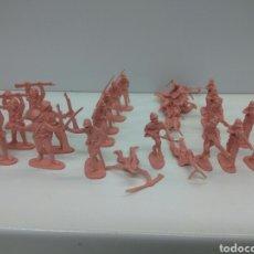 Figuras de Goma y PVC: SOLDADOS PLÁSTICO EJERCITO JAPONÉS LOTE DE 32 UNID.VER FOTOS. Lote 157809006