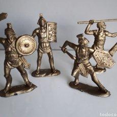 Figuras de Goma y PVC: GLADIADORES JUEGO COMPLETO, SERIE BEN-HUR LEGIONES ROMANAS DE REAMSA, REEDICIÓN EN PLÁSTICO,.. Lote 157821984