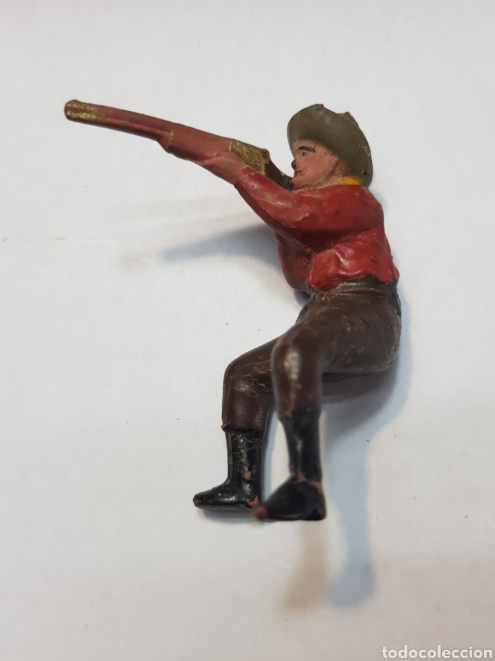 Figuras de Goma y PVC: Figura Vaquero goma Reamsa - Foto 2 - 157838385