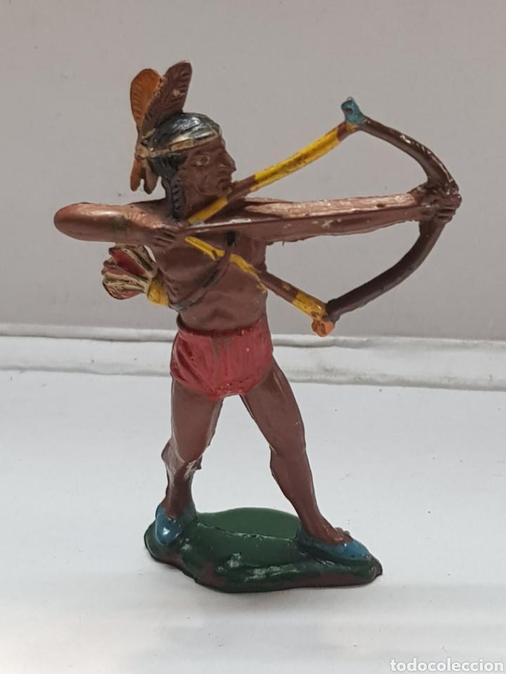 FIGURA INDIO TEIXIDO GOMA MUY ESCASA (Juguetes - Figuras de Goma y Pvc - Teixido)