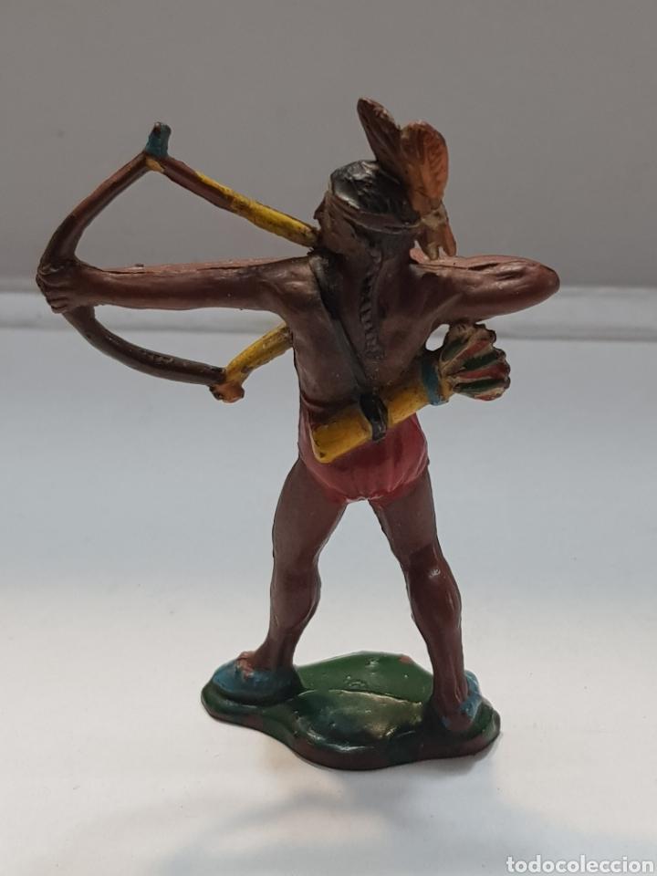 Figuras de Goma y PVC: Figura Indio Teixido goma muy escasa - Foto 2 - 157838733