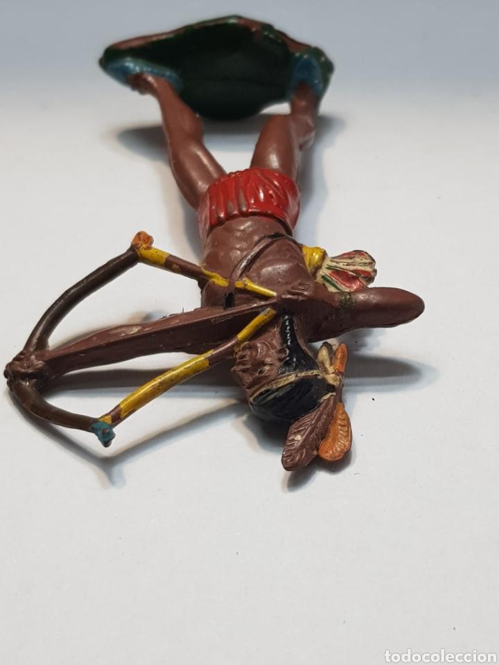 Figuras de Goma y PVC: Figura Indio Teixido goma muy escasa - Foto 3 - 157838733