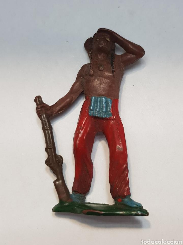 FIGURA INDIO DE TEIXIDO GOMA ESCASA (Juguetes - Figuras de Goma y Pvc - Teixido)