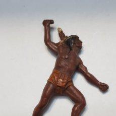 Figuras de Goma y PVC: FIGURA INDIO GOMA TEIXIDO. Lote 157839502