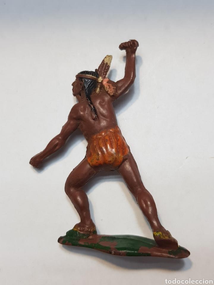Figuras de Goma y PVC: Figura Indio Goma Teixido - Foto 2 - 157839502