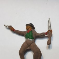 Figuras de Goma y PVC: FIGURA VAQUERO GOMA DE PECH. Lote 157841702
