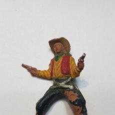 Figuras de Goma y PVC: FIGURA VAQUERO GOMA DE PECH. Lote 157841874