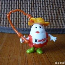Figuras Kinder: FIGURA KINDERINO PESCADOR. Lote 157844162