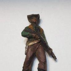 Figuras de Goma y PVC: FIGURA VAQUERO GOMA DE TEIXIDO. Lote 157844474
