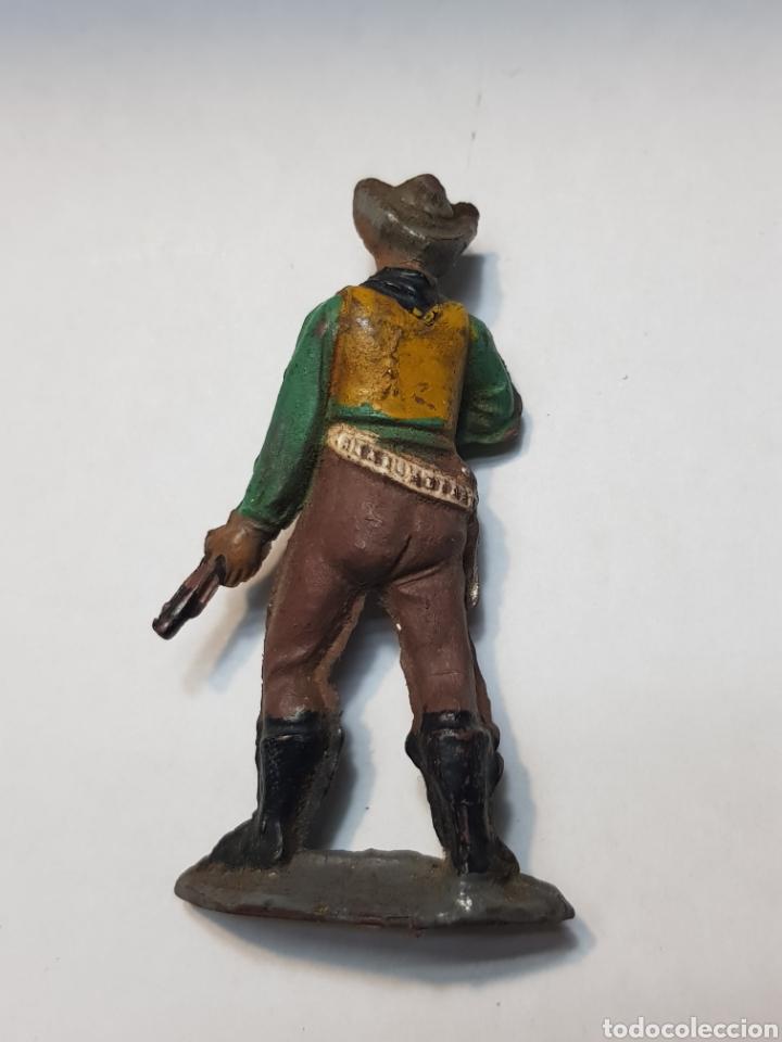 Figuras de Goma y PVC: Figura Vaquero goma de Teixido - Foto 2 - 157844474