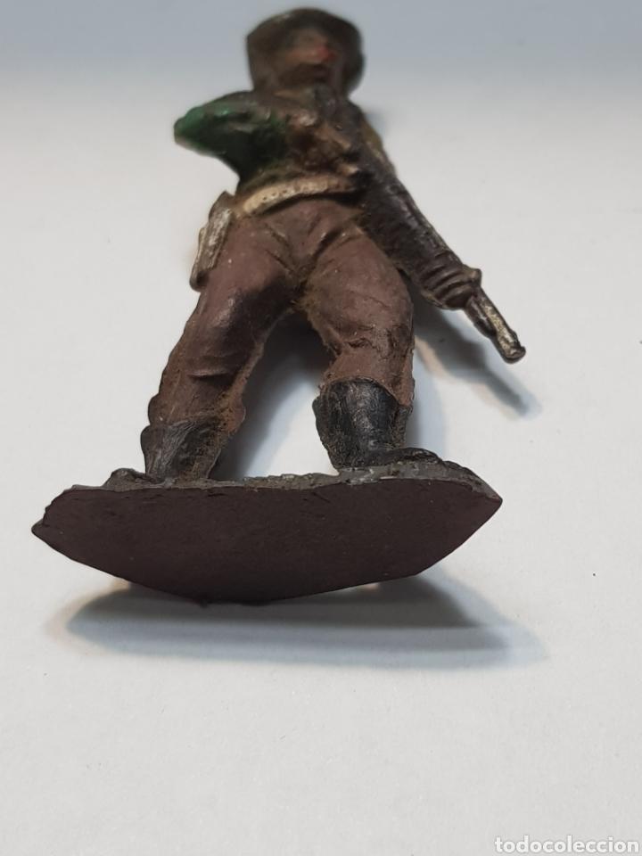 Figuras de Goma y PVC: Figura Vaquero goma de Teixido - Foto 4 - 157844474