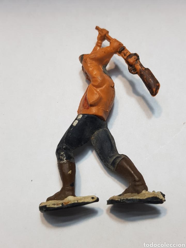 Figuras de Goma y PVC: Figura Vaquero goma articulado Gama - Foto 2 - 157853332