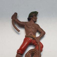 Figuras de Goma y PVC: FIGURA PIRATA DE GOMA REAMSA REF 106 ESCASO. Lote 157862870