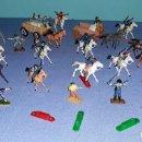 Figuras de Goma y PVC: LOTE MINI OESTE DE COMANSI AÑOS 60 ORIGINALES EN MUY BUEN ESTADO VER FOTOS Y DESCRIPCION. Lote 157871414