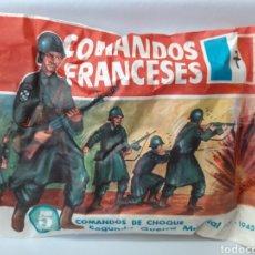 Figuras de Goma y PVC: MONTA PLEX COMANDOS FRANCESES. Lote 158058940