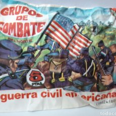 Figuras de Goma y PVC: MONTA PLEX GRUPO DE COMBATE GUERRA CIVIL AMERICANA. Lote 158064696