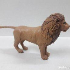 Figuras de Goma y PVC: LEON . REALIZADO POR ARCLA . AÑOS 50 EN GOMA. Lote 158113974
