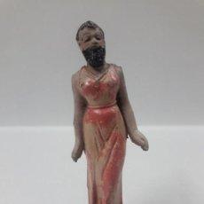 Figuras de Goma y PVC: LA MUJER BARBUDA . REALIZADA POR JECSAN . SERIE CIRCO . AÑOS 50 EN GOMA. Lote 158139678