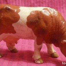Figuras de Goma y PVC: 1 VACA BULLYLAND. Lote 158164458