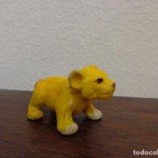 Figuras de Goma y PVC: FIGURA PEQUEÑO LEÓN COMANSI. Lote 158262018