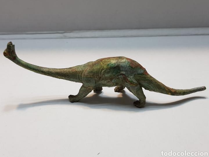 Figuras de Goma y PVC: Diplodocus de goma Lafredo serie Dinosaurios años 50 muy escaso - Foto 3 - 158320566