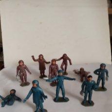 Figuras de Goma y PVC: LOTE ASTRONAUTAS AIRGAM,JECSAN. Lote 158365006