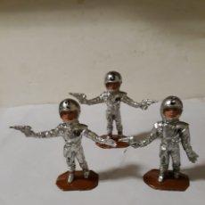 Figuras de Goma y PVC: COMANSI FIGURAS THUNDERBIRDS GUADIANES DEL ESPACIO. Lote 158456489