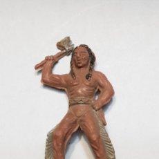 Figuras de Goma y PVC: FIGURA INDIO SERIE PEQUEÑA PECH. Lote 158537656