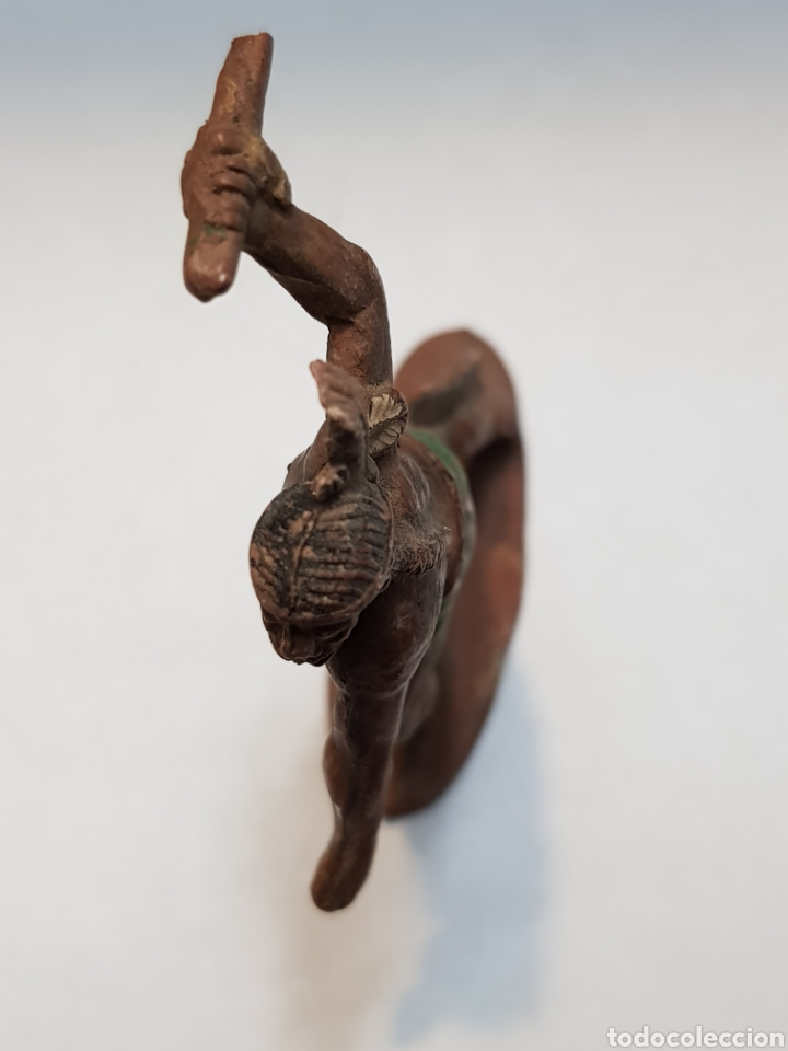 Figuras de Goma y PVC: Figura Indio goma Teixido - Foto 3 - 158540538