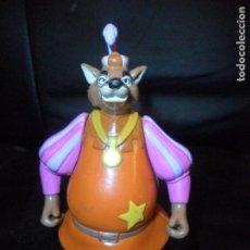 Figurines en Caoutchouc et PVC: SHERIFF DE NOTTINGHAM DE ROBIN HOOD - FIGURA PVC DISNEY - MARCA: FAMOSA SPAIN . -. Lote 177181174