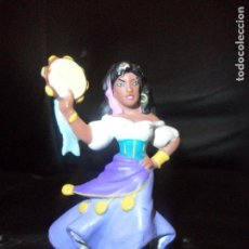 Figuras de Goma y PVC: ESMERALDA - EL JOROBADO DE NOTRE DAME - FIGURA PVC DISNEY - MARCA: BULLY -. Lote 158555230
