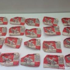 Figuras de Goma y PVC: ANTIGUOS MONTAPLEX COLECCIÓN DE MODELOS A ESCALA DE LA MARINA ANTIGUA Y MODERNA. Lote 158596836